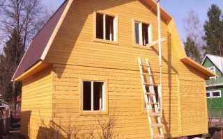 Правильно собирать брусовой дом