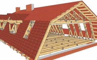 Ломаная крыша как стыковать