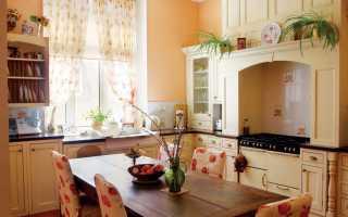 Как оформить красивую кухню руками
