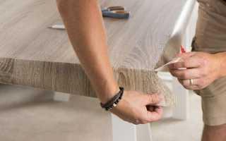 Как оклеить мебель самоклеющейся пленкой