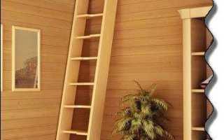 Чердачная лестница своими руками пошаговая инструкция