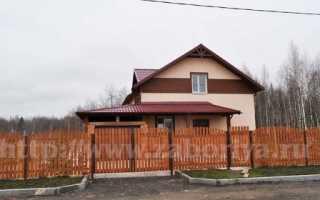 Забор для дома и дачи
