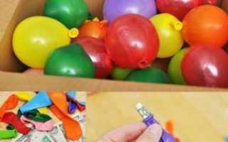 Снятся шарики воздушные новые в коробке вмагазине